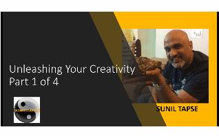 Unleash Your Creativity – Part 1